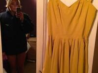 Motivul pentru care pretul acestei rochii a ajuns la 185.000 de euro. Cum apare tanara in prima poza