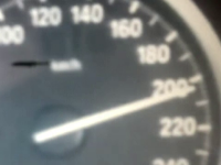 Un tanar din Mures, prins cu 227 km/h pe Autostrada Transilvania