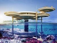 Galerie FOTO. Cel mai mare hotel subacvatic din lume va fi construit in Dubai