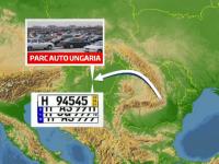 Cum evita unii soferi taxa de prima inmatriculare: Numerele de Ungaria ce te pot baga la inchisoare