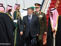 Mohamed Morsi, in prima vizita oficiala a unui presedinte egiptean in Pakistan in ultimii 40 de ani
