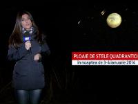 Spectacol pe cerul Romaniei, vineri noapte. Ce fenomene astronomice ne asteapta in 2014