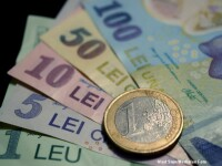 Cursul LEU - EURO a atins maximul ultimelor 9 luni. Fata de ziua precedenta a crescut insa cu aproape 1 ban