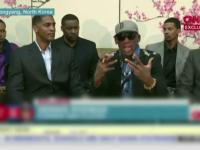 Reactie violenta a lui Dennis Rodman La CNN. Cum si-a aparat