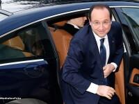 François Hollande a vizitat-o pe Valérie Trierweiler prima data dupa internare. Ce a declarat la iesirea din spital