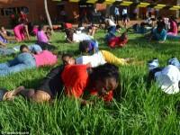 Un pastor din Africa de Sud i-a pus pe credinciosi sa manance iarba. Multora li s-a facut rau