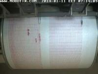 Cutremur cu magnitudinea de 3,2 in judetul Buzau, zona seismica Vrancea, inregistrat sambata seara