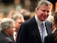 Noul primar al New York-ului, criticat dupa ce a luat masa intr-o pizzerie