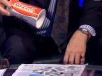 Experiment BBC. Cate plicuri de zahar se afla intr-un pahar de Coca Cola