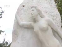 La Galati, statuia dedicata lui Eminescu are 2 maini doar in zile festive. Povestea monumentului jefuit de hoti de 25 de ori