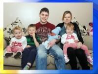 Motivul pentru care o familie britanica nu va uita absolut niciodata datele de nastere ale celor patru copii