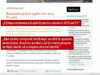 Romania ar putea avea prima echipa de Formula 1. Asocierea care ne poate include intr-un domeniu de miliarde