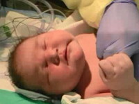 O femeie din Statele Unite a dat nastere unui bebelus care cantareste 6 kilograme si 800 de grame