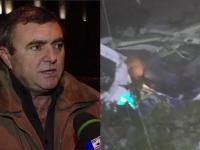 Tatal copilotului Razvan Petrescu povesteste cosmarul prin care a trecut ore bune dupa ce fiul l-a sunat din avionul cazut