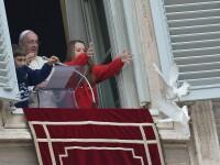 Ce s-a intamplat cu porumbeii eliberati de Papa Francisc in timpul slujbei de duminica de la Vatican
