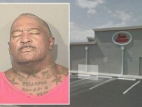 Un american a amenintat ca va arunca un club in aer si va impusca toti politistii. Gestul care i-a provocat o criza de nervi