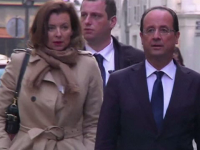 Viata amoroasa a presedintelui francez Hollande, subiect de film. Scenariul va fi bazat pe cartea fostei lui partenere