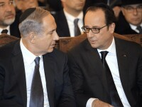 Netanyahu s-a autoinvitat la marsul de la Paris, desi presedintia franceza i-ar fi cerut sa nu vina