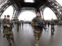 Mai putina libertate de miscare pentru libertatea de exprimare. Franta mobilizeaza 10.000 de militari; Controale la frontiera