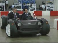 Premiera la Salonul Auto de la Detroit. Cum arata masina construita de o imprimanta 3D, in 44 de ore