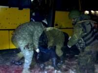 Doliu national in Ucraina pentru cei 12 civili, ucisi intr-un atac cu proiectile. Anuntul facut de Porosenko dupa tragedie
