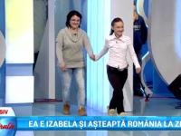 Izabella, primul interviu, in direct la ProTV. Catalin Maruta i-a promis un mega-party in 14 martie, de ziua ei