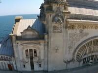 Toata lumea stie cum arata in exterior. Imagini filmate cu drona in interiorul Cazinoului din Constanta. VIDEO