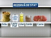 Rezerva de alimente a Romaniei in caz de calamitate este la pamant. Cum s-a golit depozitul de la Peris in ultimii 25 de ani