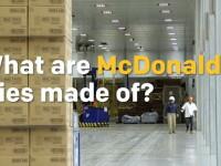 Din ce sunt facuti de fapt cartofii prajiti de la McDonald's? Un prezentator TV a avut acces in fabrica gigantului