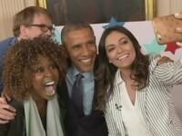 Moment stanjenitor pentru Barack Obama in timpul unui interviu cu vedetele YouTube: