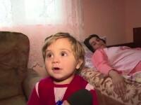 Povestea cutremuratoare a unei familii cu 2 fetite. Traiesc cu 450 de lei/luna, tatal e invalid, iar mama are cancer