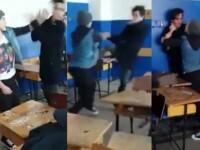 Ancheta in Constanta dupa ce pe internet a aparut un filmulet in care 2 elevi se bat cu pumnii si picioarele la scoala. VIDEO
