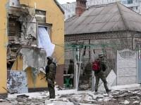 Doliu national in Ucraina dupa atacul cu 30 de morti si 100 de raniti. Kiev: Mariupol e inconjurat cu rachete de separatisti