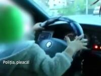 Ce risca parintii care, din inconstienta, isi lasa copiii minori la volan. Cazurile surprinse de soferii aflati in trafic