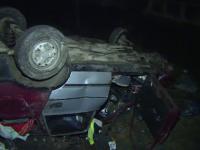 Masina spulberata de un TIR, in apropierea Capitalei. Cum s-a petrecut accidentul si ce au patit pasagerii