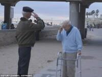 Un fost detinut din lagarele naziste si-a revazut salvatorul, dupa 70 de ani. Gestul impresionant facut de ofiterul american