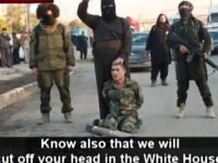 Teroristii SI il ameninta pe Obama: