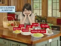 LISTA celor 14 ingrediente care trebuie specificate de restaurante in toate meniurile. O simpla aluna poate provoca decesul