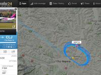 Un avion al companiei Wizz Air a survolat aeroportul din Cluj mai bine de 30 de minute. De ce nu a putut ateriza aeronava