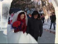 Nunta la comun in China. Motivul pentru care 15 cupluri au decis sa-si uneasca destinele in acelasi timp