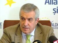 Tariceanu: ALDE pregateste o motiune simpla impotriva ministrului justitiei. Este deschisa tuturor partidelor