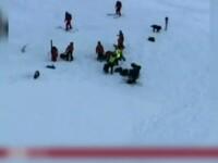 Un grup de romani, banuit ca a provocat tragedia de miercuri din Alpi. Trei persoane au murit ingropate de o avalansa