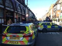 Panica intr-un cartier al Londrei, din cauza unui afis aparut peste noapte.
