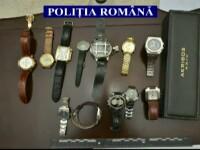 Metoda prin care o retea de hoti a furat ceasuri si bijuterii de 10 mil. EUR. Ce faceau imediat dupa ce luau prada