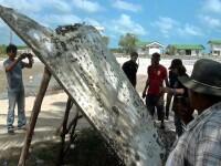 Zborul MH370. Un fragment metalic care ar putea avea legatura cu avionul disparut, descoperit pe coasta Thailandei