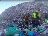Sky NEws, reportaj de la groapa de gunoi a Clujului
