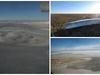 Al doilea lac din Bolivia, ca marime, s-a evaporat complet. Expertii cred ca a disparut pentru totdeauna. FOTO si VIDEO