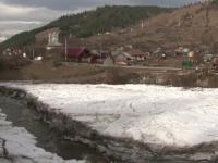 Locuitorii satelor de pe malul Bistritei, amenintati de incalzirea brusca a vremii. Fenomenul care le pune in pericol casele