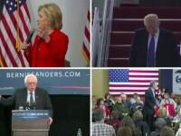 Bernie Sanders castiga alegerile din Virginia de Vest. SONDAJ: Pe cine ar vota americanii presedinte intre Trump si Clinton