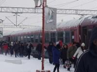 Trenurile circulă în condiții de iarnă. Întârzieri de până la 75 de minute, în Gara de Nord